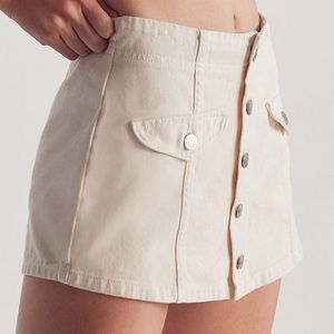 🍀SALE🍀BDG Winona Button Front Skort